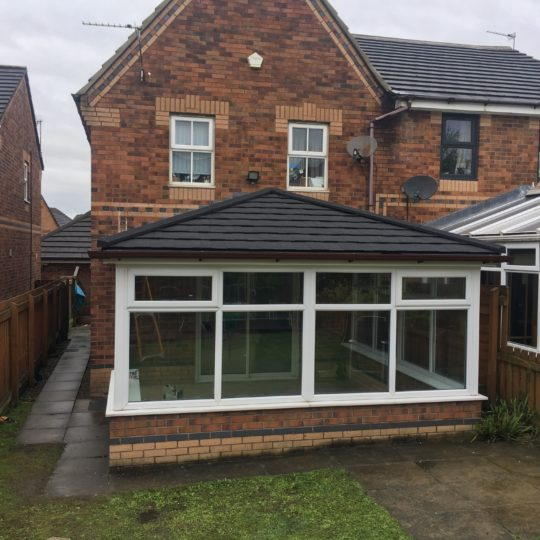 Charming Edwardian conservatory complements this property in Accrington