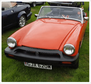 39-year-old MG midget