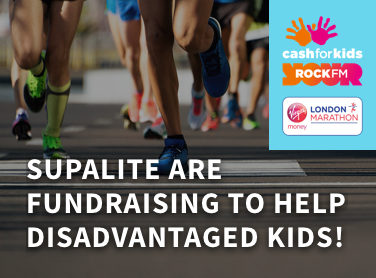 SupaLite are fundraising to help disadvantaged kids in Lancashire