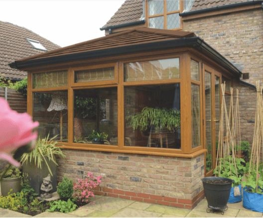 Lightweight Tiled Conservatory Roof