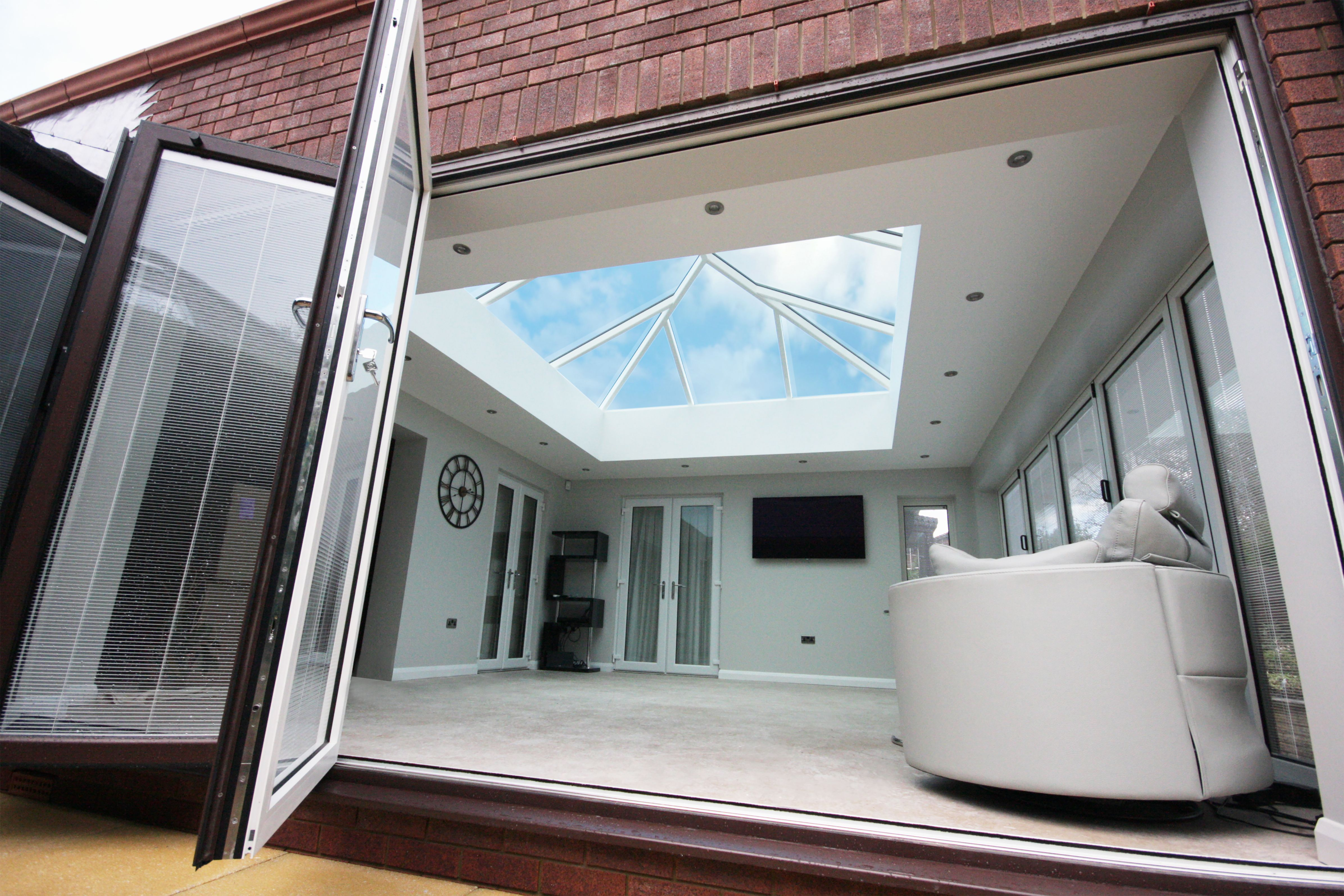 Flat Roof Orangery Supalite Tiled Roof Systems