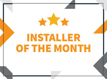 Lane & Peach – September Installer of the Month