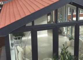 Lightweight conservatory roof