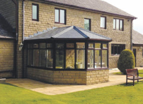 slate replacement conservatory roof