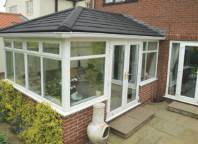 slate conservatory roof